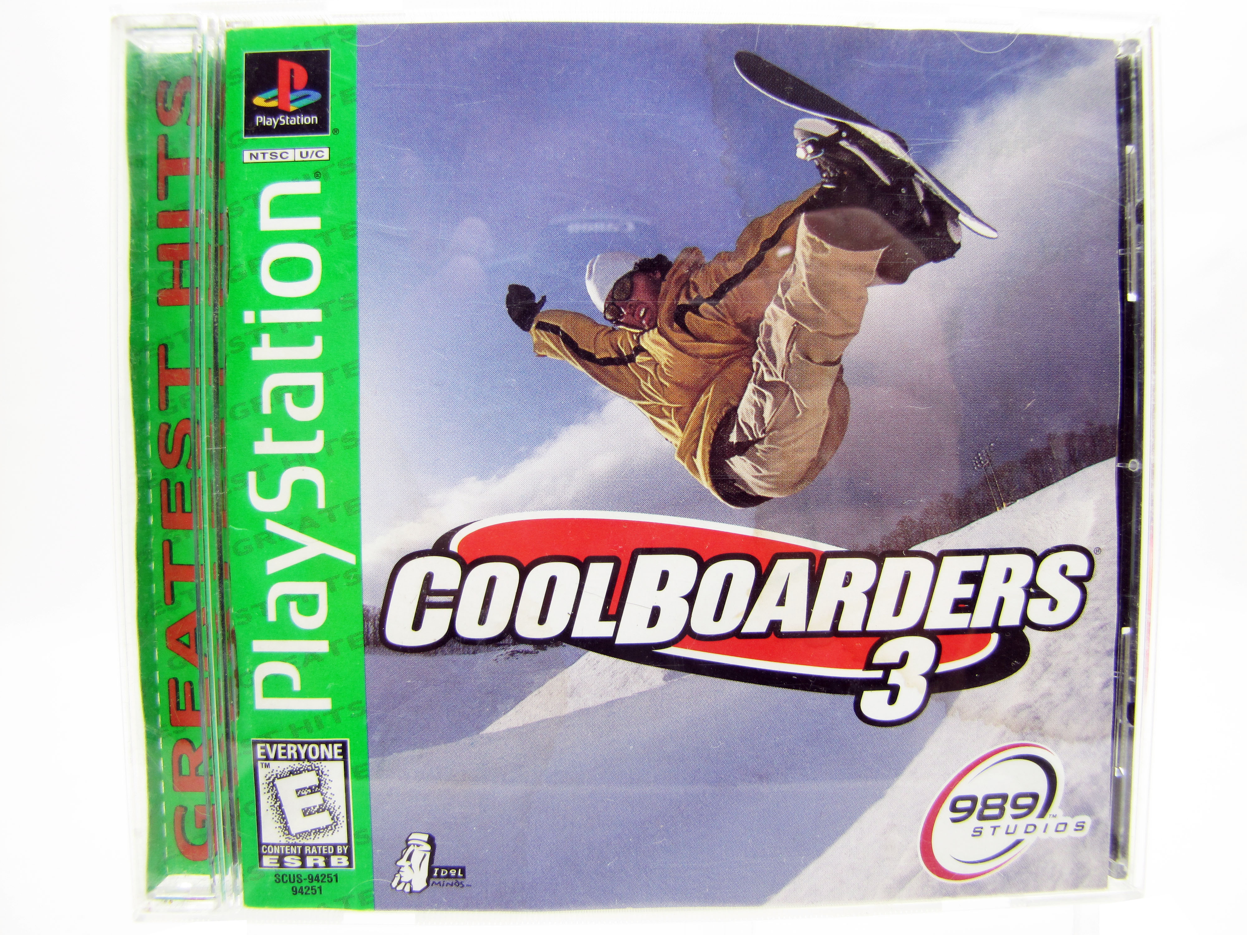 PS1 Cool Boarders 3 Complete - 1998